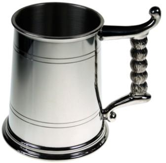 1PT LINED TANKARD ROPE HANDLE