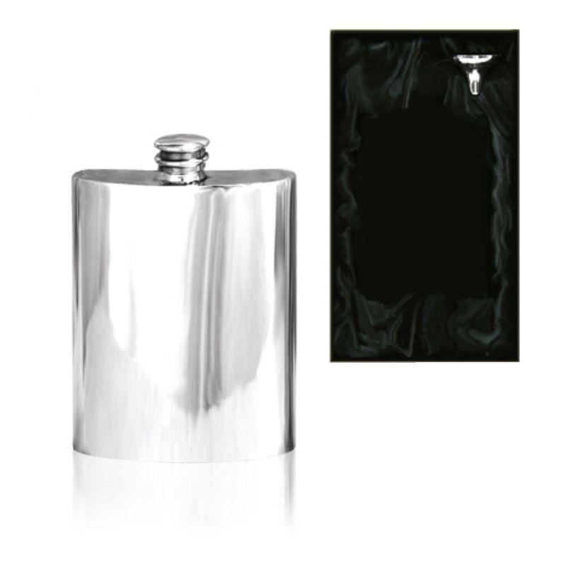 4oz English Pewter Hip Flask