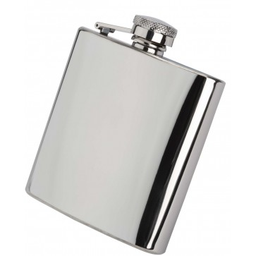 6oz Stainless Steel Hip Flask Perfume Sample