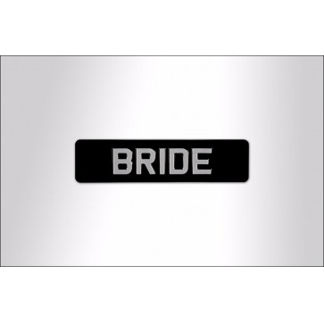 Bride Embossed Sign Perfume Sample