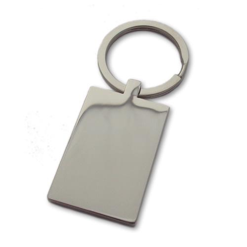 Engraved Keyring - Stainless Steel