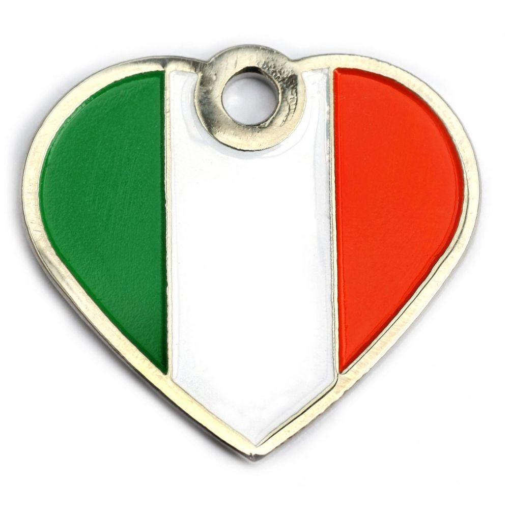 Heart Irish Pet Tag
