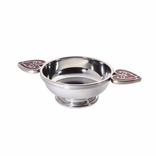 Heart of the Highlands Pewter Quaich