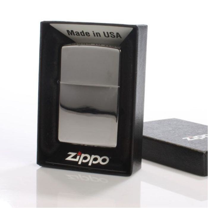 High Polish Zippo Lighter -  Chrome