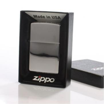 High Polish Zippo Lighter -  Chrome Perfume Sample