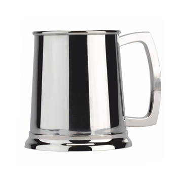 Highly Polished Stainless Steel Tankard in Gift Box Perfume Sample
