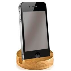 Laser Ready Wooden Bamboo Phone Holder