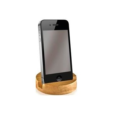 Laser Ready Wooden Bamboo Phone Holder Perfume Sample