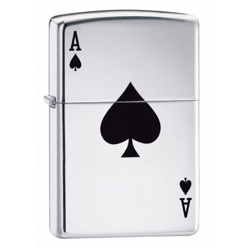 Lucky Ace of Spades Zippo