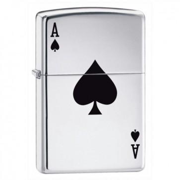 Lucky Ace of Spades Zippo Perfume Sample