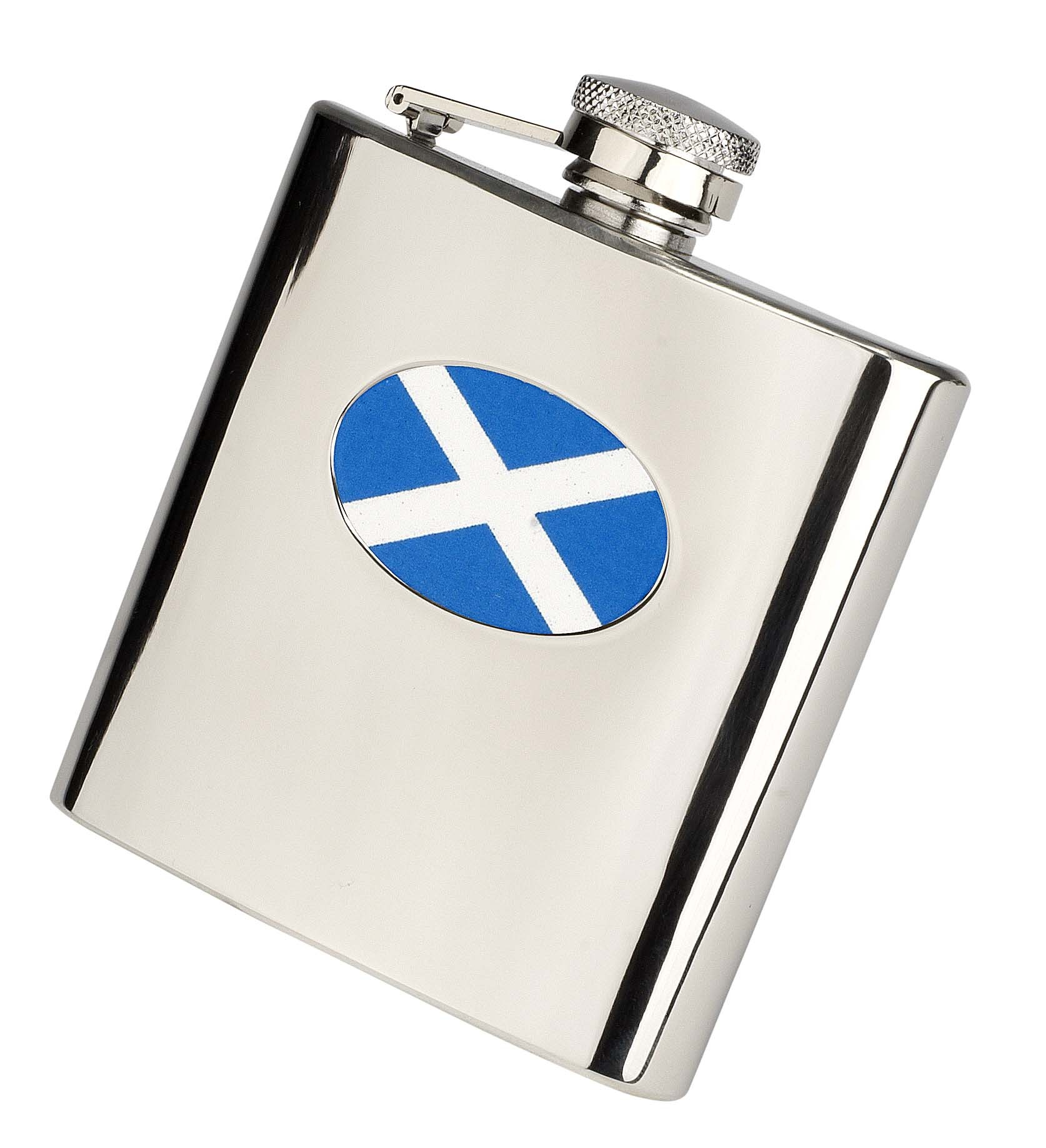 Nations Stainless Steel Hip Flask