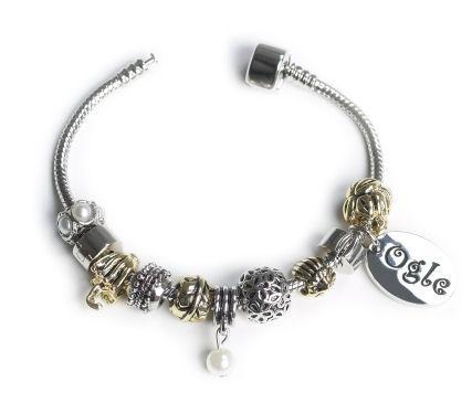 OGLE  Bracelet Gold & Silver Personalised Free