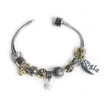 OGLE  Bracelet Gold & Silver Personalised Free Perfume Sample