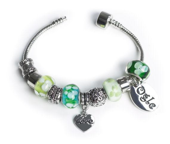 OGLE  Bracelet Love Personalised Free - Silver Plated