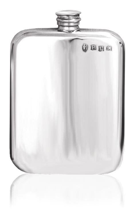 Personalised English Pewter Hip Flask SF434/435