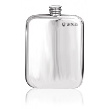 Personalised English Pewter Hip Flask SF434/435 Perfume Sample