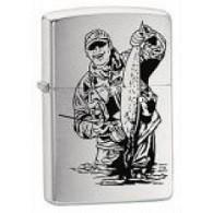 Personalised Fisherman Zippo Lighter