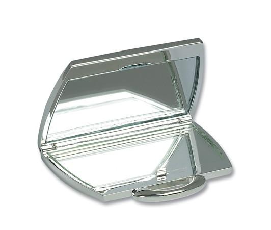 Personalised Handbag Shaped Compact Handbag Mirror Silver Plated