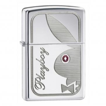Personalised Playboy Genuine Zippo Lighter Perfume Sample