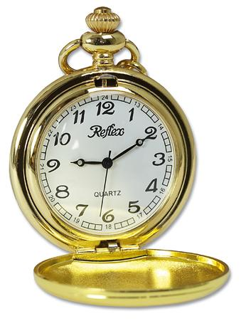 Personalised Pocket Watch Gold Plated