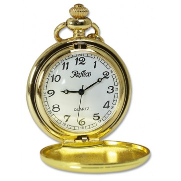 Personalised Pocket Watch Gold Plated Perfume Sample