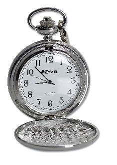 Personalised Pocket Watch Silver Plated