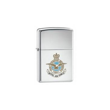 Personalised Royal Air Force Genuine Zippo Lighter Perfume Sample
