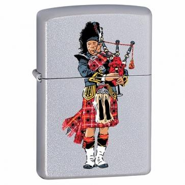 Personalised Scottish Bag Piper Zippo Lighter Perfume Sample