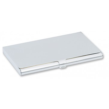 Personalised Silver Plated Business / Credit Card Case Perfume Sample