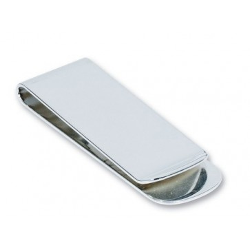 Personalised Silver Plated Money Clip Perfume Sample