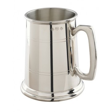 Pewter 1 Pint Tankard in Gift Box Perfume Sample