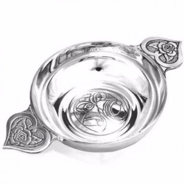 Pewter Wedding Loving Bowl Perfume Sample