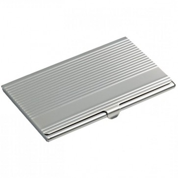 Ribbed Business Card Holder Perfume Sample
