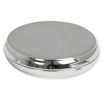 Round Compact Mirror Perfume Sample