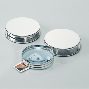 Round Magnifying Glass Perfume Sample