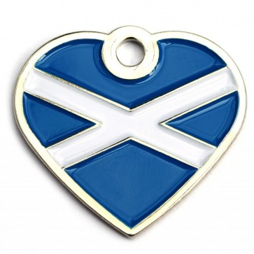 Scottish Heart Pet Tag Perfume Sample