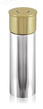 Shotgun Cartridge 4 or 6oz Pewter Hip Flask