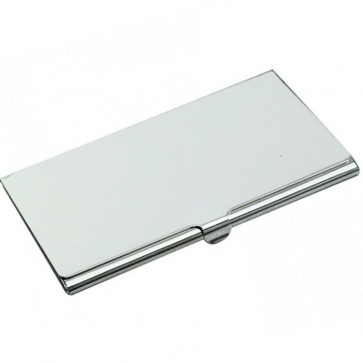 Silver Business Card Holder Perfume Sample