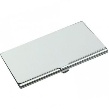 Silver Business Card Holder Perfume Sample