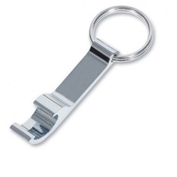 Silver Plated Bottle Opener Keyring Perfume Sample