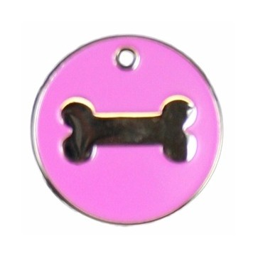 Stainless Steel Bone Pet Tag Perfume Sample