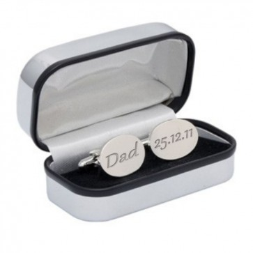 Stainless Steel Cufflinks Perfume Sample