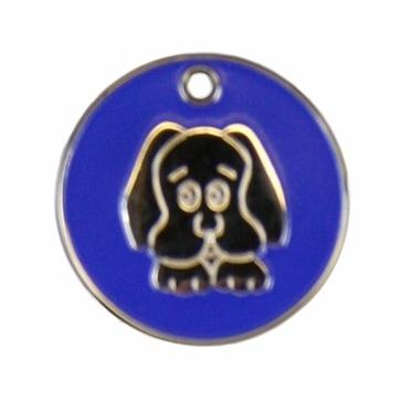 Stainless Steel Doggy Pet Tag Perfume Sample