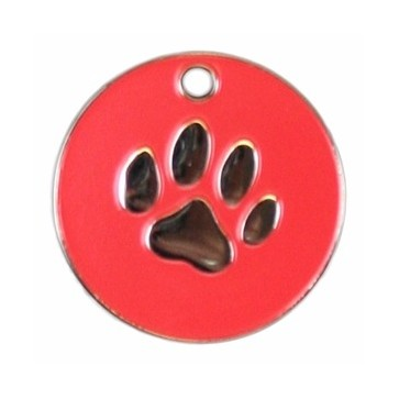 Stainless Steel Paw Pet Tag Perfume Sample