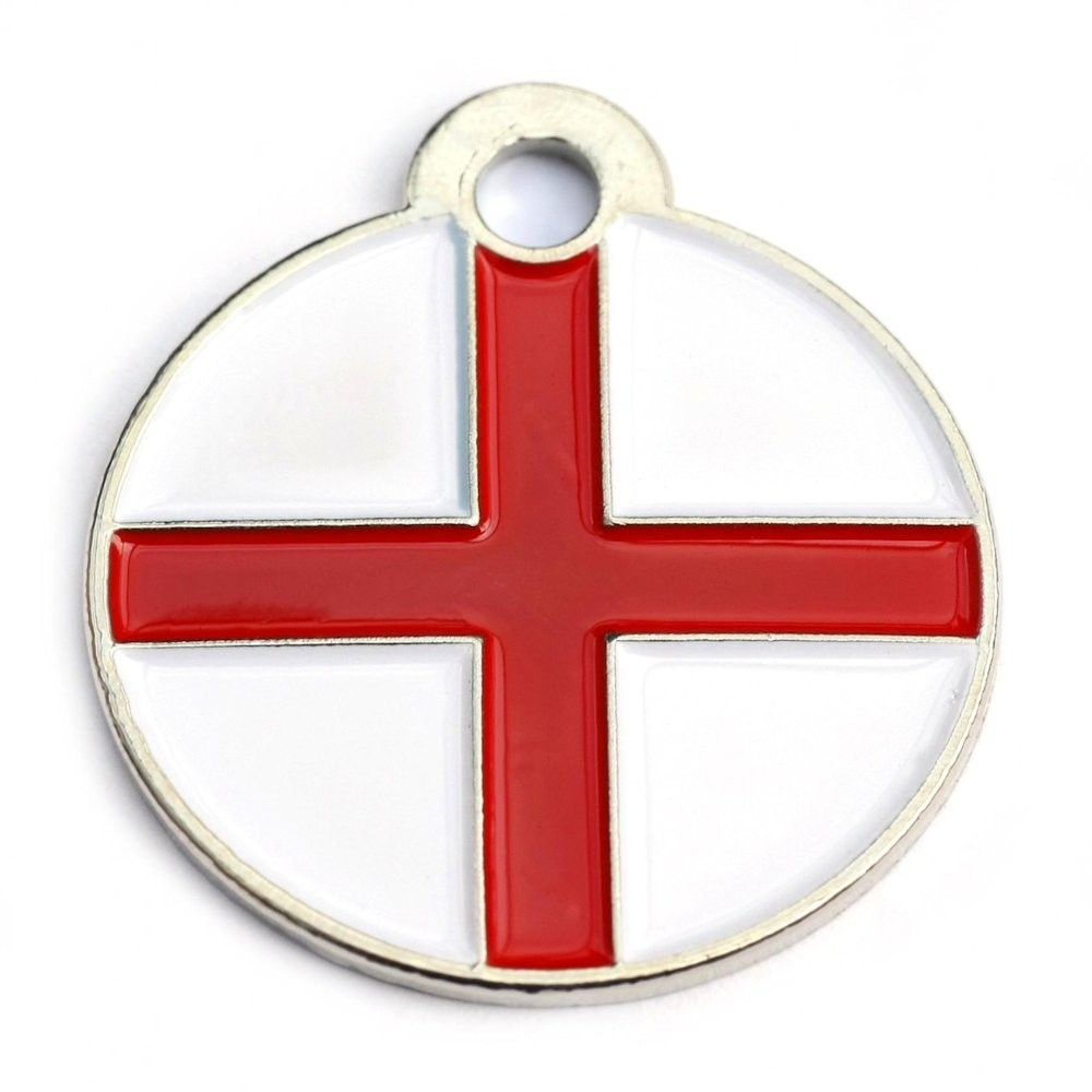St.Georges Round Pet Tag