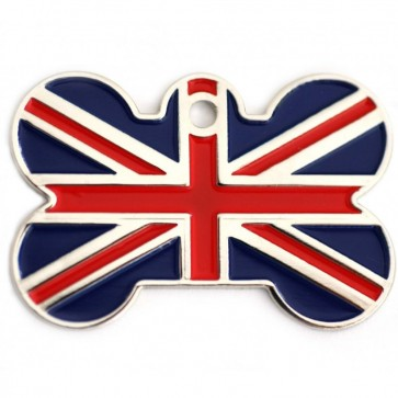 Union Jack Bone Pet Tag Perfume Sample