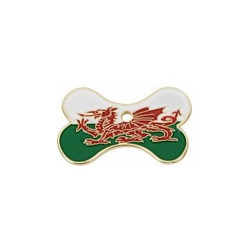 Welsh Dragon Bone Pet Tag Perfume Sample