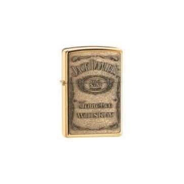 Zippo Jack Daniels Embossed Brass Genuine Zippo Lighter Perfume Sample
